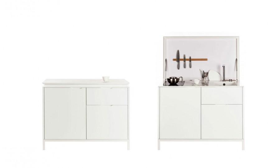 kitchenette design studio architecte équipée pratique studio