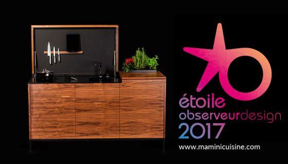 Maminicuisine étoile de l'observeur du design 2017 par apci